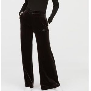H&M BNWT Velvet Hugh Waisted Pants